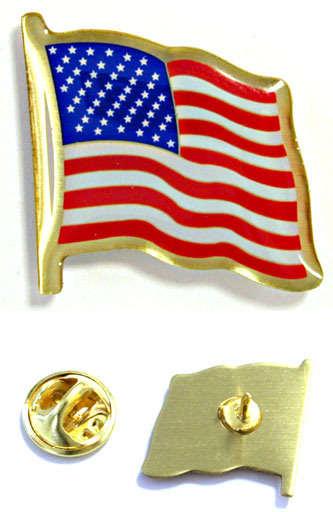 flag epoxy pin Epoxy logo