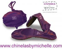 folding shoe design Chinelas folding shoe invention