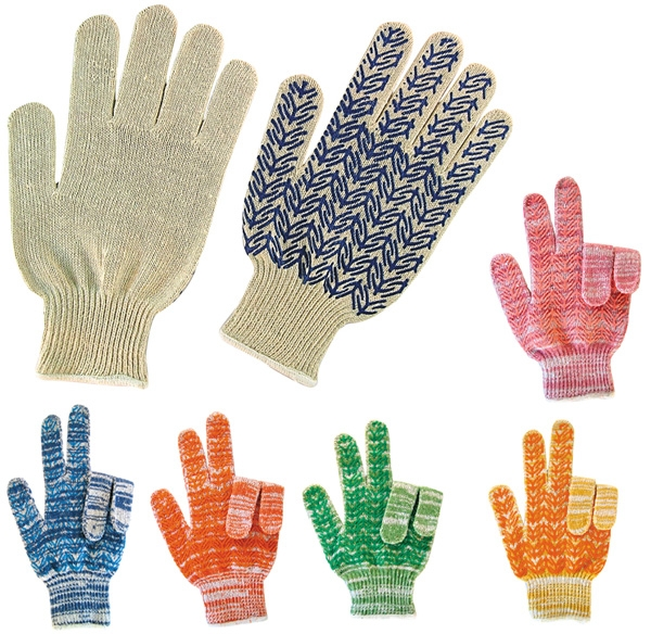 multi color string knit gloves Promo Gloves   Getting your product in peoples hands.