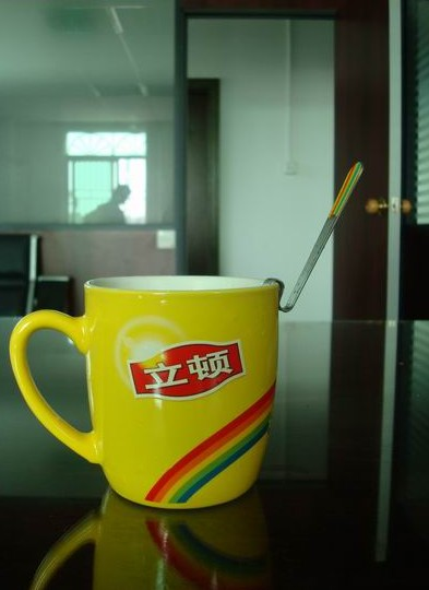 lipton cup and z stirrer 11 Lipton Promotions in China: Gift with Purchase