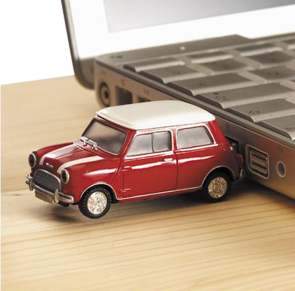 Celestial Movies: Mini Cooper USB Giveaway
