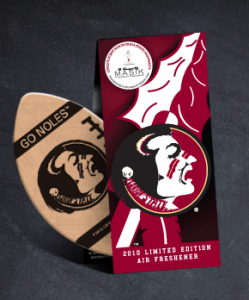 florida state air freshner Scented Promos   Limited Edition Car Air Freshener by Nitto Tire
