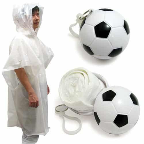 man poncho Sport Promotional Gift   a Raincoat Poncho that fits in a key chain! 