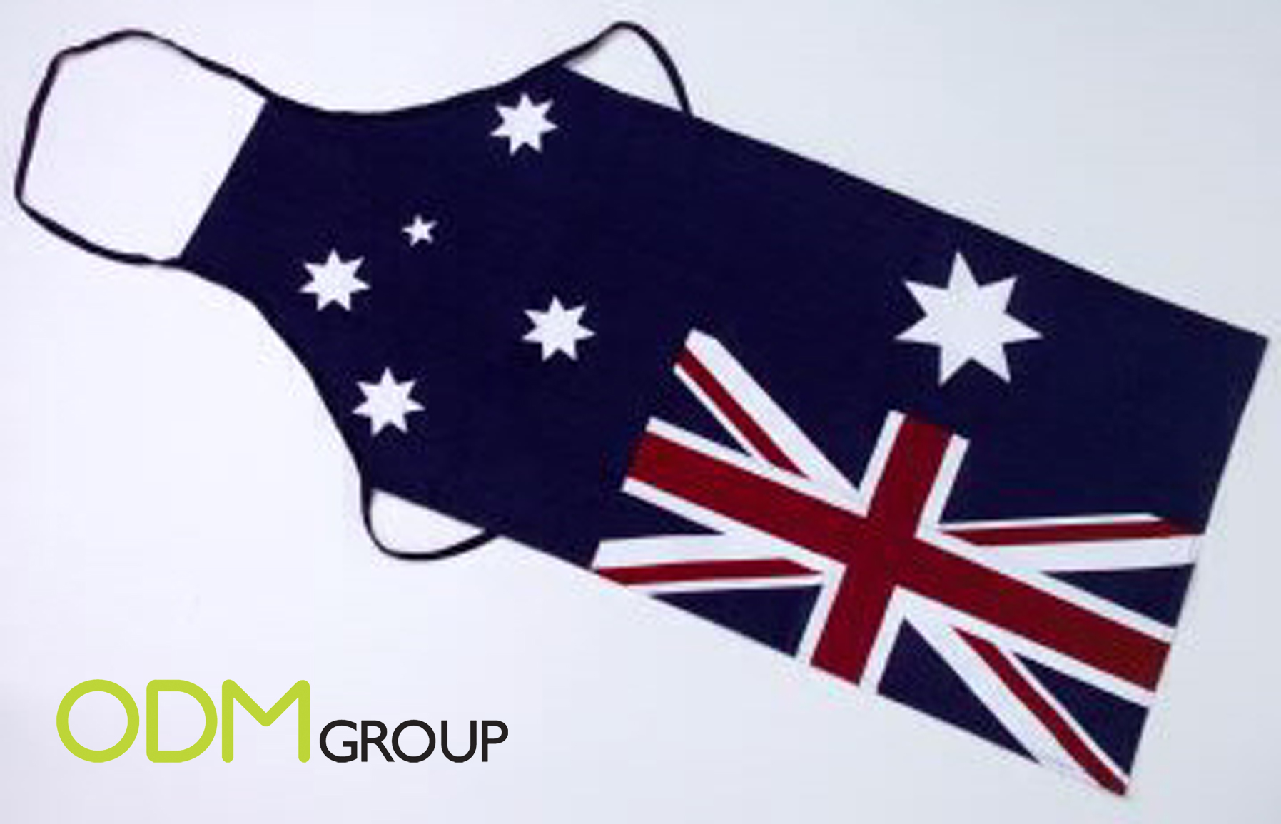 apron aussie flag Customized Aprons to Promote your Brand or Country