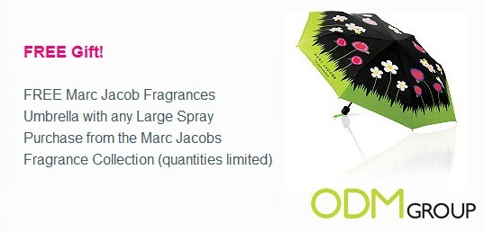 gwp marc jacob umbrella1 Gift with Purchase Promos: Marc Jacobs Fragrances Umbrella by Ulta
