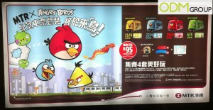 Promotional Merchandise Angry Bird MTR Souvenir Ticket Sets 300x155 Promotional Merchandise   Angry Bird Souvenir Ticket Sets by MTR