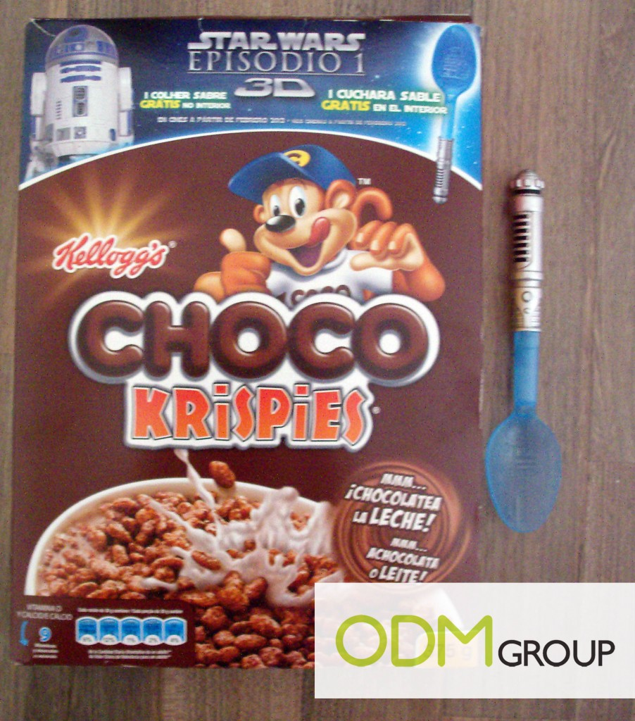 Promotional Product Spain Star Wars Spoon by Kelloggs 902x1024 Promotional Product Spain   Star Wars Spoon by Kelloggs