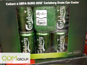 Singapore Carlsberg Promotional Product 300x225 Beer Promos   Carlsberg Grass Can Cooler GWP