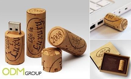 Wine Stopper USB Promotional Ideas: Wine Stopper