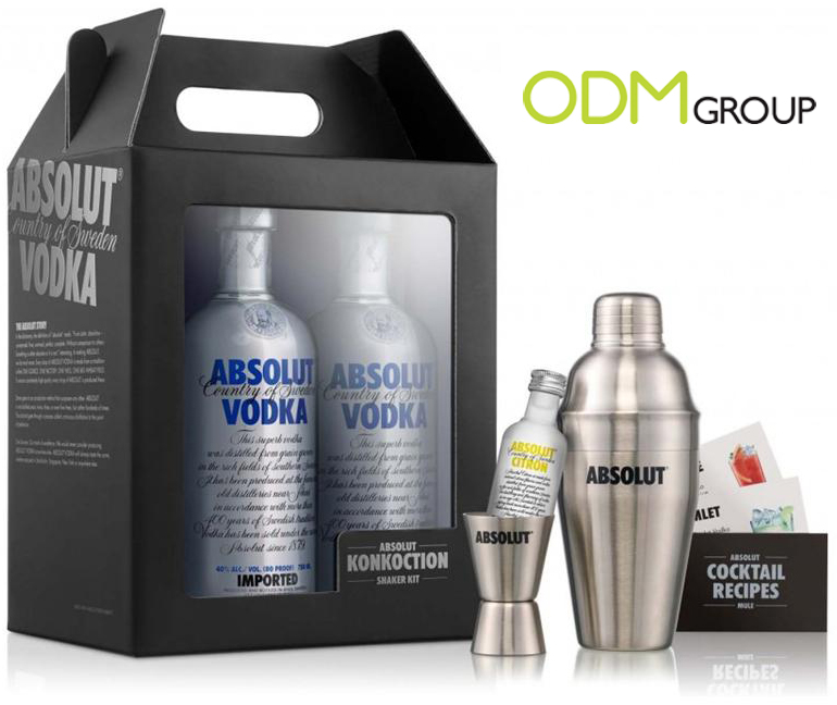BLOG PIC10 Absolut Vodka Gift with Purchase: Konkoction Shaker Kit