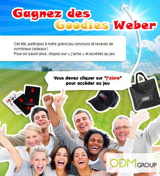 GWP France Weber Barbecues mdf Promotional Gift France   Weber Barbecues