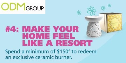 GWP by Harbour Centre Promotional GWP   Ceramic Burner by HarbourFront Centre