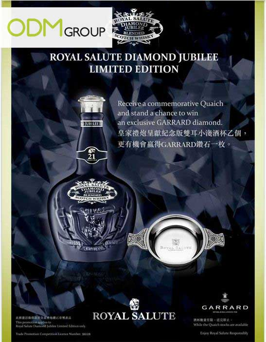 Royal Salute Diamond Jubilee Quaich Royal Salute Diamond Jubilee   Quaich