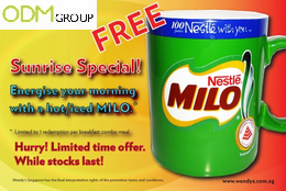 Wendys GWP Milo Mug Wendys GWP   Milo Cup  