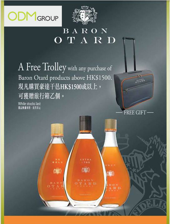 blog pic Duty free store promos: Otard Trolley Bag