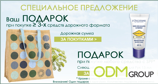 loccitane Promotional Product Russia   a Travel Bag by LOccitane