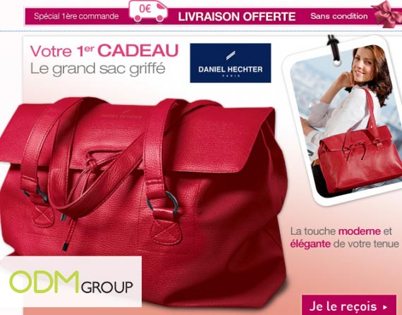 EDITED GWP France Daniel Hechter handbag by Ricaud GWP France   Daniel Hechter handbag by Ricaud