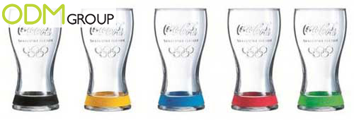 GWP France Olympic Games Glasses by Mac Donalds and Coca Cola GWP France   Olympic Games Glasses by McDonalds