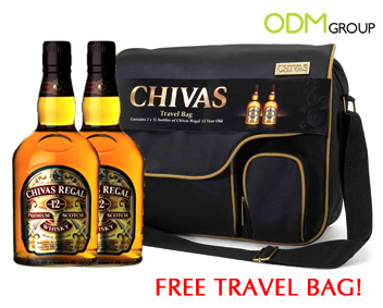 HK Airport Duty Free Chivas Travel Bags1 GWP   Free Travel Bag with Chivas Regal
