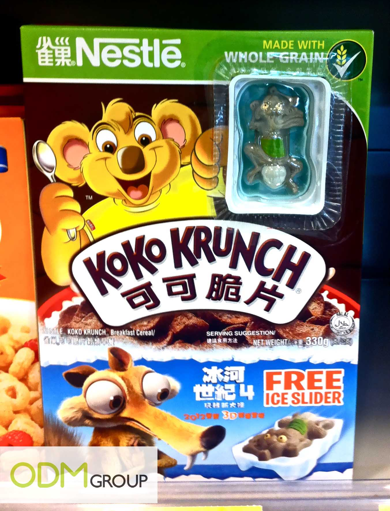 Nestlé GWP Koko Krunch Ice Slider1 KoKo Crunch GWP   Ice Slider Figurine