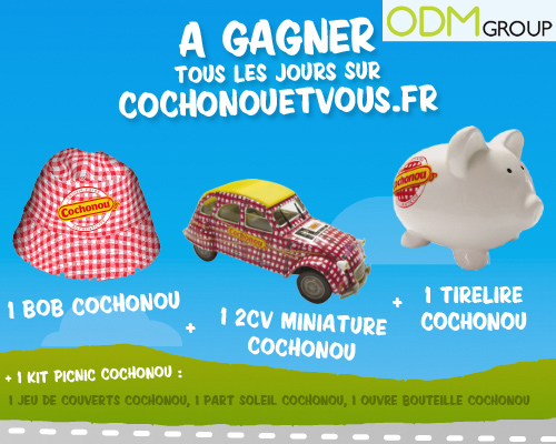 Promotional Product France Cochonou gifts for the Tour de France 2012 Promotional Product France   Cochonou gifts for the Tour de France 2012