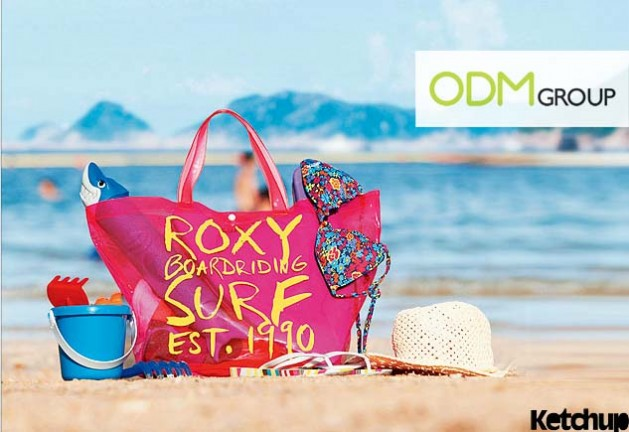 Roxy Bag Promotional Item 629x432 FACE Magazine Promo   Roxy Beach Bag 