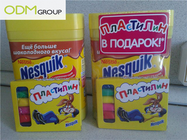 nesqick Nesquik On Pack Promotion, Russia