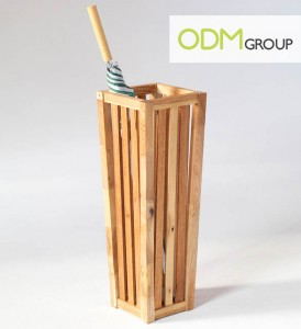 wooden stand 274x300 Umbrella Stand as Promotional Tools
