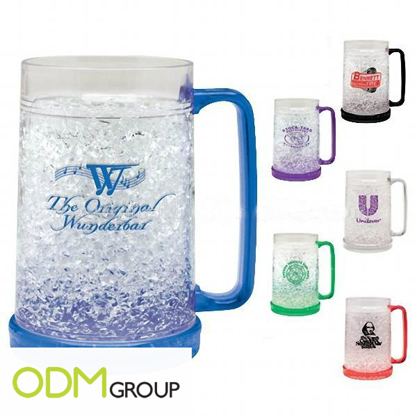 Acrylic Frosty Freezer Mug Promotional Ideas for Drinks Companies   Gel Freezer Mug 