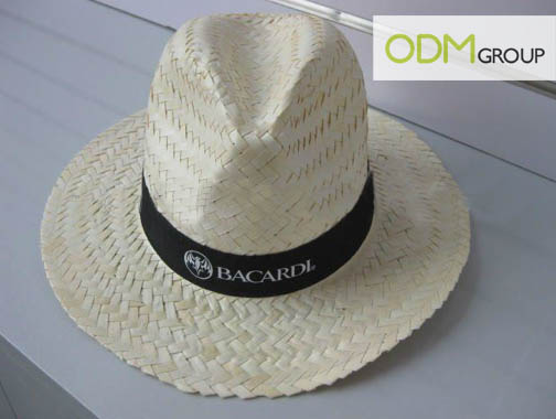 Bacardi Promotional Straw Hat Promotional Gift Ideas   Straw Hats