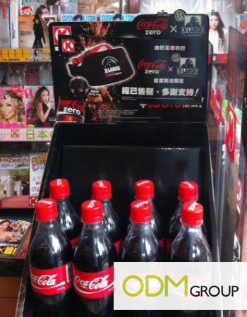 Coke Promo Coca Cola PWP Body Bag