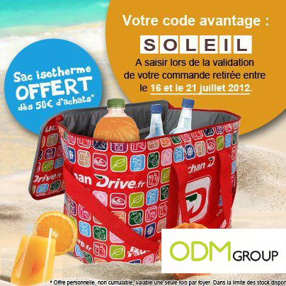 Incentive Product France Isotherm bag by Auchan Drive Incentive Product France   Isotherm bag by Auchan Drive