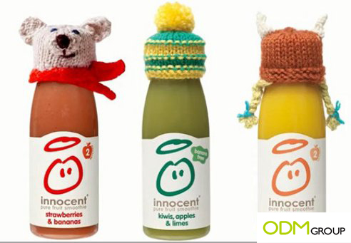 Innocent smothie promotion with logo4 Innocent Smoothie Promotion