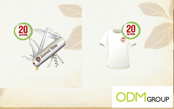 Promotional T shirt Promotional Products from Russia by Donskoy Tabak Cigarettes