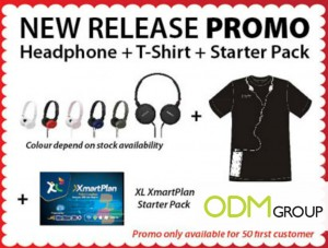sony promo 300x227 Sony Promotion   Free Headphones and T Shirt (GWP)