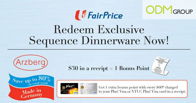 Fairprice Promotion NTUC Fair Price Dinnerware Promotion