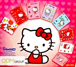 LU Hello Kitty Biscuit Kraft Food Collectible Stickers 300x263 GWP Promo France  Hello Kitty Stickers by LU biscuits