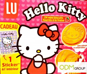 LU biscuits Hello Kitty Stickers 300x253 GWP Promo France  Hello Kitty Stickers by LU biscuits