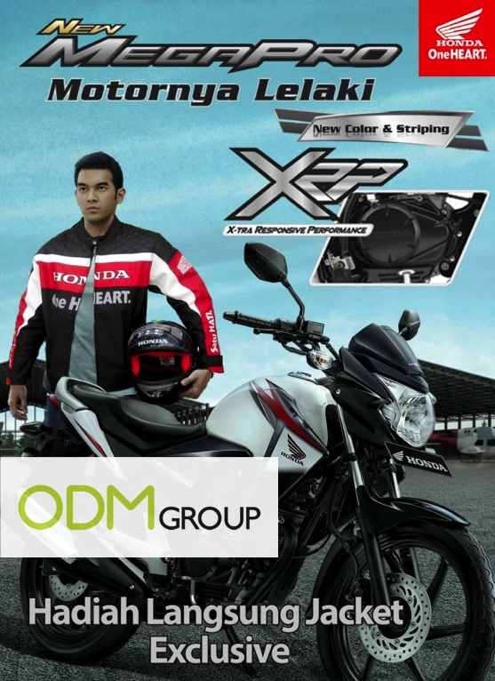 Promotional Honda Jacket Lampung Promotional Honda Jacket Indonesia