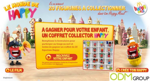 Promotional Product Frannce Figurines by McDonalds 629x340 Promotional Product France   Figurines by McDonalds
