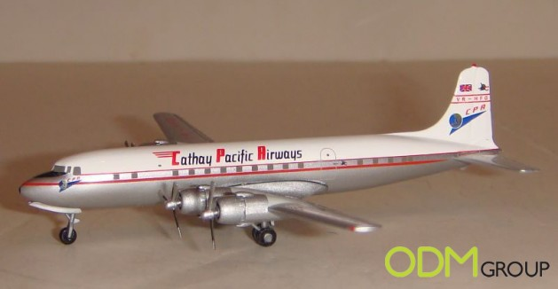 cathay3 629x326 Cathay Pacific Promotional Gift: Aircraft Model