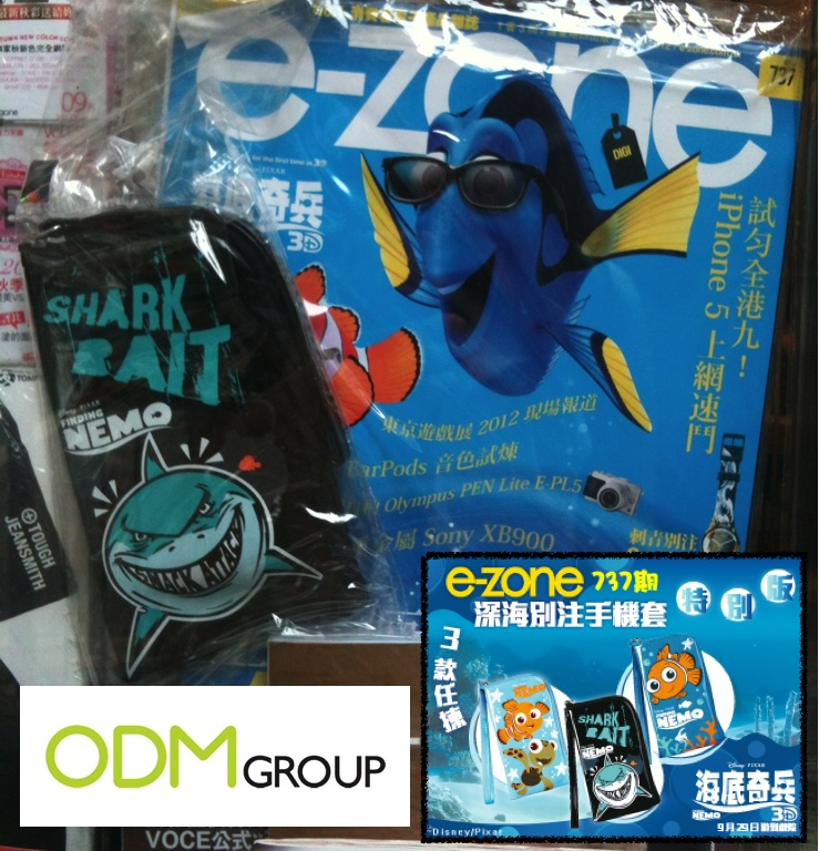 e zone Special Edition GWP Finding Nemo Phone Pouch by e zone Magazine