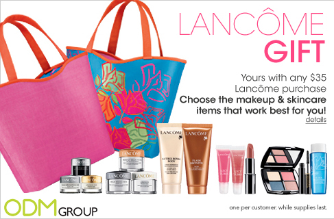 Lancome Gift with Purchase Tote