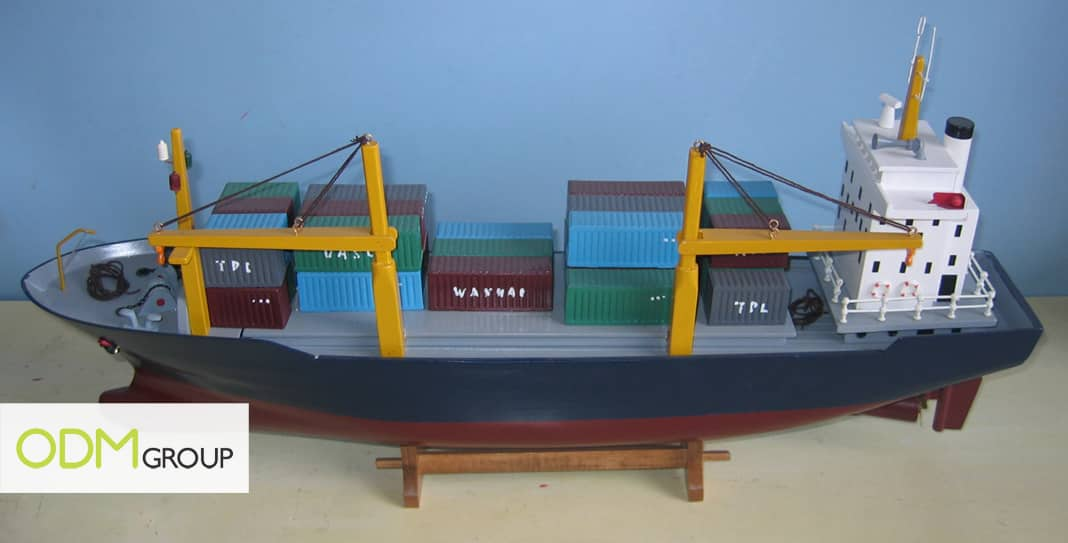 ship2 Promotional Gift Idea: Container ships/Cargo ships
