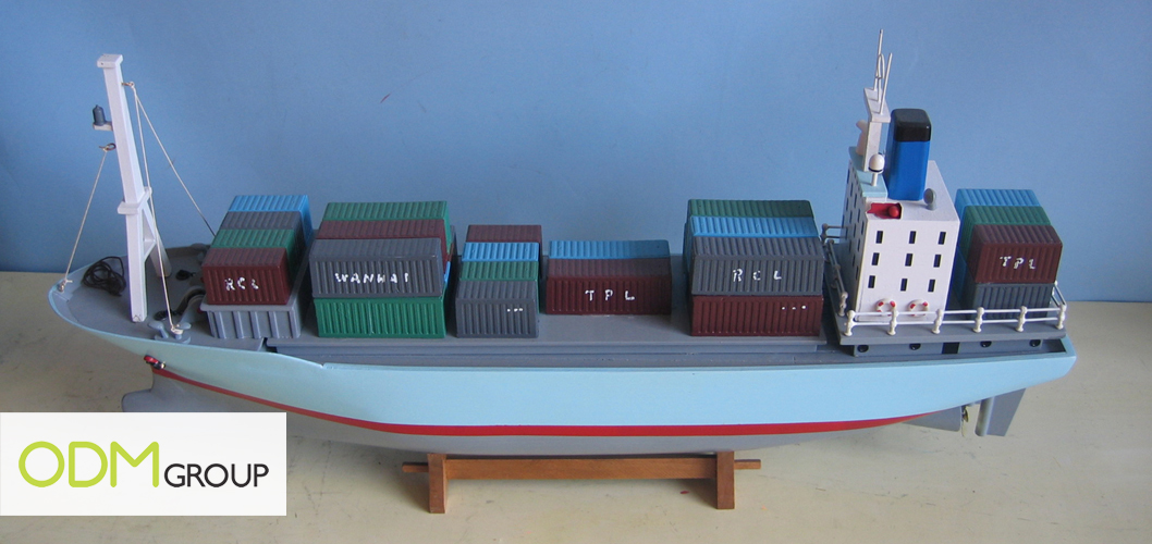 ship3 Promotional Gift Idea: Container ships/Cargo ships