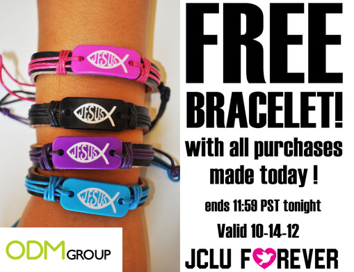 JCLU Forever GWP Adjustable Bracelet JCLU Forever GWP Adjustable Bracelet