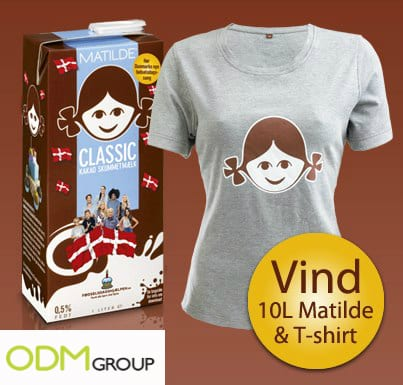 Matilde Matilde Chocolate Milk Promotion   Denmark