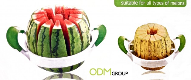 Promogift Idea Easy Melon Watermelon Cutter 629x264 Promotional Products Ideas   Fruits & Vegetables Cutters
