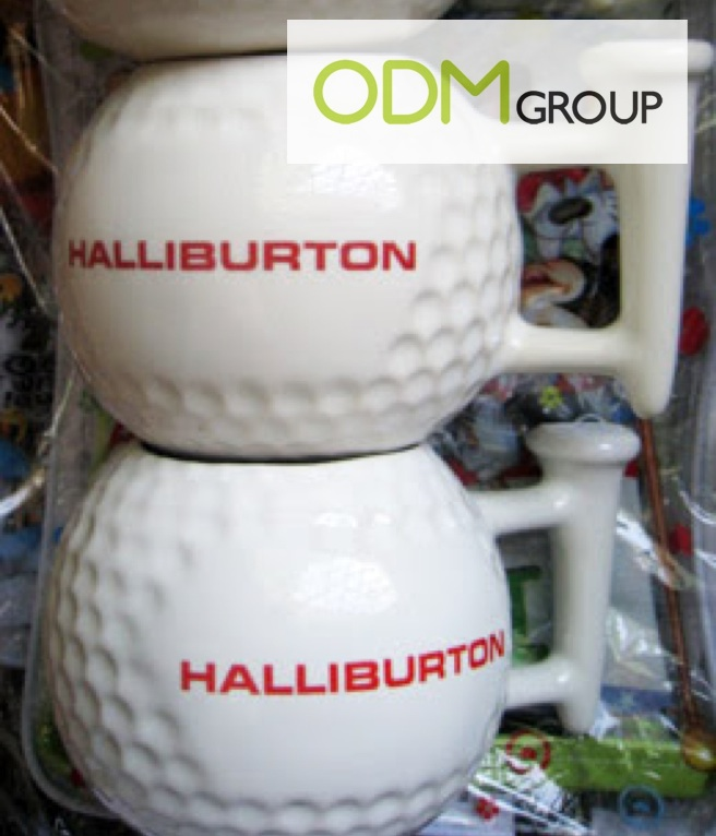 Promotional Idea Golf Shaped Cup Promotional Idea: Golf Shaped Cup