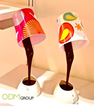 Promotional Lamp Chocolate Cup Promotional Gift Idea   Chocolate Cup LED Lamp